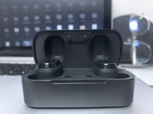 FIIL T1X Review - Earbuds in Case
