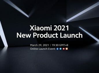 Xiaomi 2021 Mega Product Launch