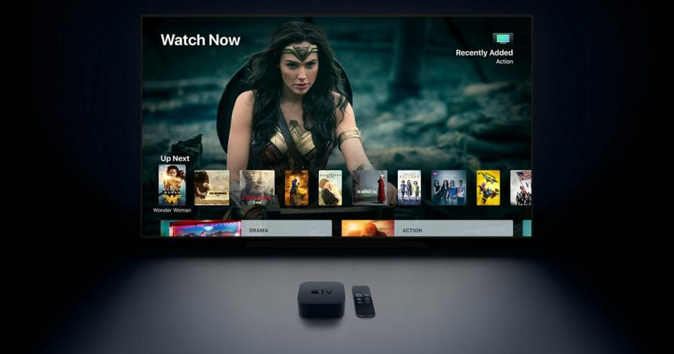 Apple TV 4K with support for 120Hz Display