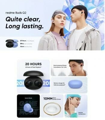 Realme Buds Q2 Features