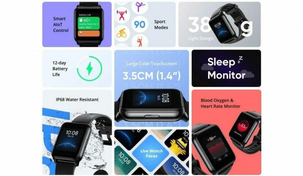 Realme Watch 2 Features