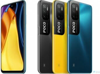 POCO M3 Pro 5G Colour Options