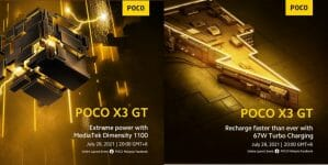 Poco X3 GT Pre-Launch - Charging Features