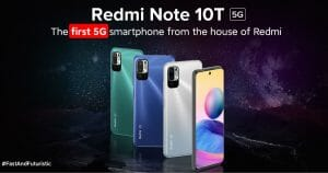 Xiaomi Redmi Note 10T 5G Launched