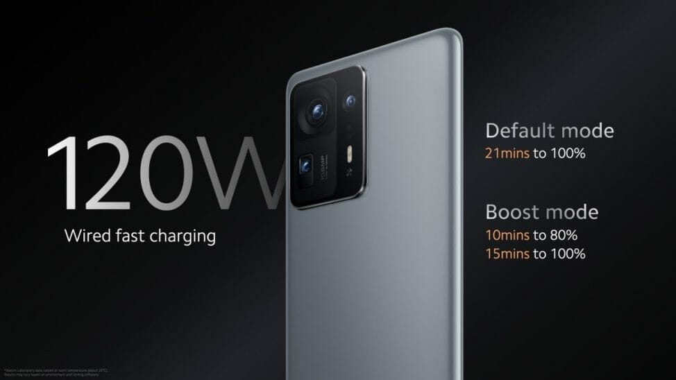 Xiaomi Mi Mix 4 Battery and Charging
