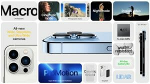 Apple iPhone 13 Pro Features