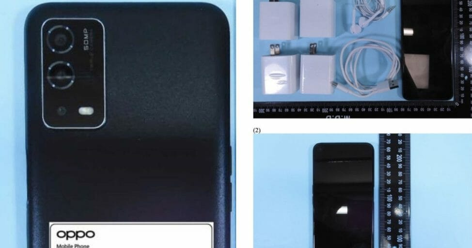 Oppo A55 4G Live Images - Leak