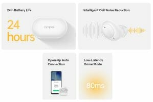Oppo Enco Buds Features