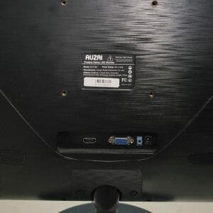 AUZAI 21.5-inch Monitor - Ports and Connectivity