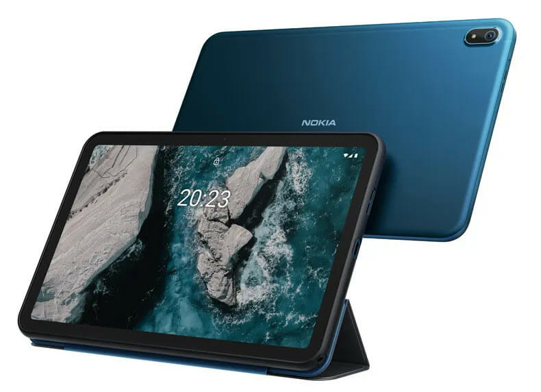 Nokia T20 Tablet with Flip Cover