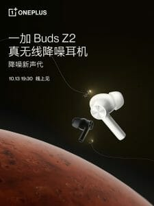 OnePlus Buds Z2 Launch Poster Invite Teaser